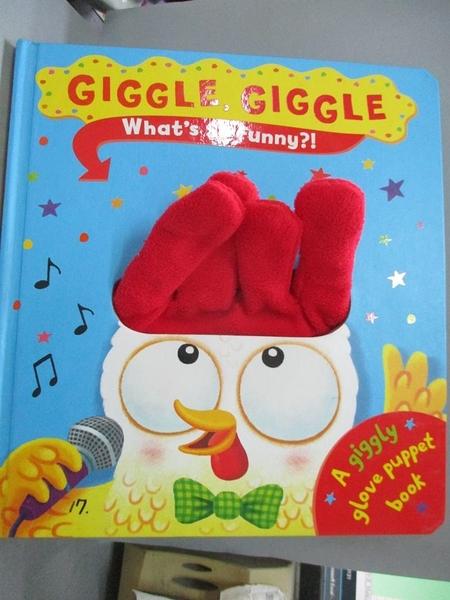 【書寶二手書T1/少年童書_QDQ】Giggle Giggle What'S So Funny?_Ben Mantle