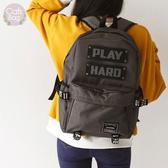 Catsbag|PLAY HARD 防潑水輕朋克大容量後背包|15吋筆電可入|