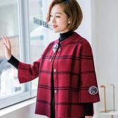 媽媽針織外套  新款中老年女外套短款春秋裝媽媽洋氣針織上衣兩件套裝40歲50 免運
