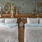 床包 / 雙人特大【夢遊愛麗絲】含兩件枕套,100%精梳棉,戀家小舖台灣製