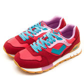 LIKA夢 PONY  繽紛韓風復古慢跑鞋 Mark 8 冰淇淋系列 紅紫藍 52W1MK61RD 女 6折好康