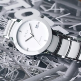 女士手錶防水時尚2018新款潮流學生正韓簡約白色陶瓷手錶女石英錶BL【全館上新】