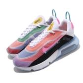 Nike 休閒鞋 Air Max 2090 BETRUE 彩色 男鞋 彩虹 氣墊 半透明鞋面設計 運動鞋 【PUMP306】 CZ4090-900