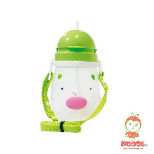 KOODE小瓢蟲 卡通自動水壺500cc(2-12歲適用) K-4151 綠色