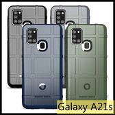 【萌萌噠】三星 Galaxy A21s (6.5吋) 新款護盾鎧甲保護殼 全包防摔 氣囊磨砂軟殼 手機殼 手機套