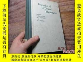 二手書博民逛書店integrity罕見of offshore structure