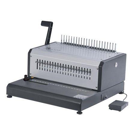 [ 電動膠環機 E-BIND-30 可抽刀 ] 膠裝機 膠圈機  裝訂機 膠環 打孔機 活頁打孔機