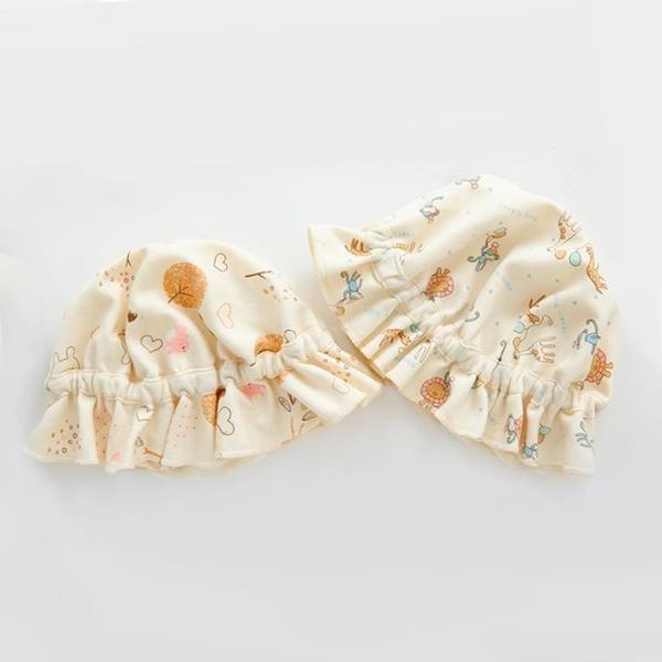 全館83折 嬰兒帽子春秋男寶寶0-3-6-12個月夏天胎帽初生薄款純棉新生兒可愛