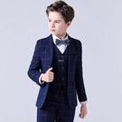 兒童小西裝套裝男童中大童小學生演出服韓版花童禮服男孩表演西服 快速出貨