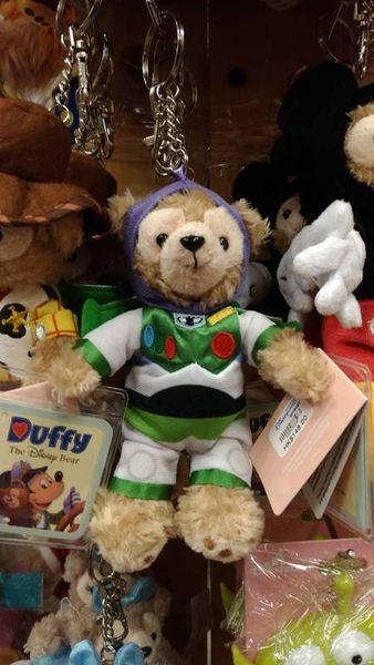 【香港迪士尼代購】達菲 雪莉玫【巴斯光年鑰匙圈】附樂園指南+袋子 Duffy