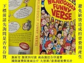 二手書博民逛書店Hilariously罕見Funny Verse: 滑稽有趣的詩句Y200392