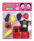 【智博】櫻桃小丸子 開心蔬果吧→旋轉 果汁機 扮家家酒 生日 禮物 玩具 批發 角色扮演