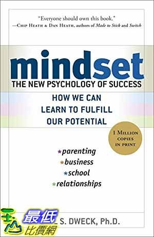 [104美國直購] 2015 美國暢銷書排行榜 Mindset: The New Psychology of Success
