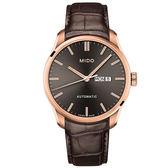 【僾瑪精品】MIDO 美度 BELLUNA II 系列 時尚紳士腕錶-咖啡x金/M0246303606100