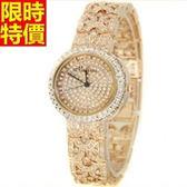 鑽錶-嚴選品味高貴女腕錶3色5j41[巴黎精品]