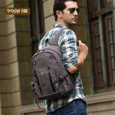【TROOP】經典品格CLASSIC雙肩包/TRP0256BK(黑色)