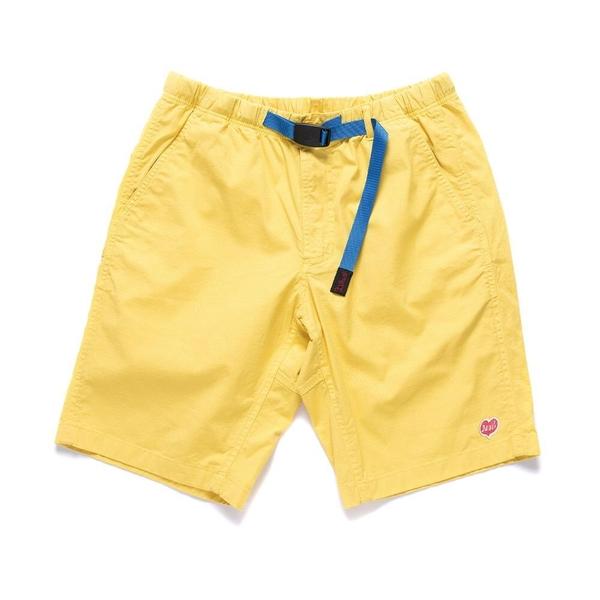 Deus Ex Machina Gramicci X Deus Shorts 短褲-男/女(黃)