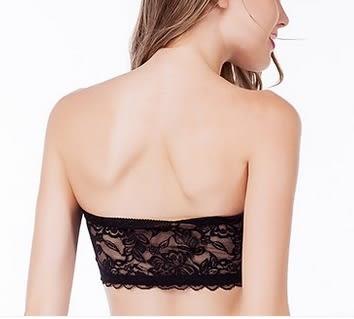薄蕾丝性感裹胸胸罩-ting007