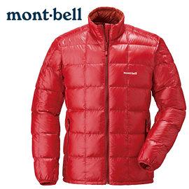 丹大戶外 日本【mont-bell】Superior 男款羽絨夾克 1101466SURD 日出紅
