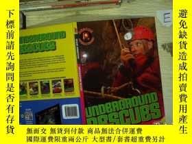 二手書博民逛書店rescue罕見operations underground rescues 地下營救行動Y180897