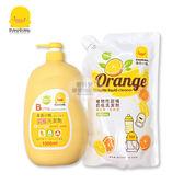 【愛吾兒】黃色小鴨 PiYo 嬰幼兒專用奶瓶洗潔劑 1+1超值組