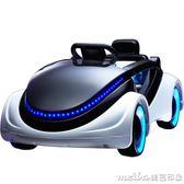 科幻兒童電動車 四輪帶遙控寶寶嬰兒可坐玩具車 小孩電動童車汽車igo 美芭