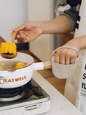 隔熱手套 樹可日式棉麻鍋耳套廚房隔熱手套加厚指尖鍋柄防燙烤箱微波爐手套 風馳