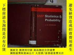 二手書博民逛書店SMP罕見STATISTICS PROBABILITY 統計概率Y261116