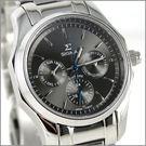 【萬年鐘錶】SIGMA日系 三眼時尚錶 1018B-01