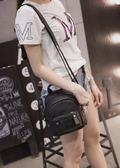 後背包 夏季新款女包韓版時尚鉚釘小雙肩包迷你小後背包休閒旅行包潮 芭蕾朵朵