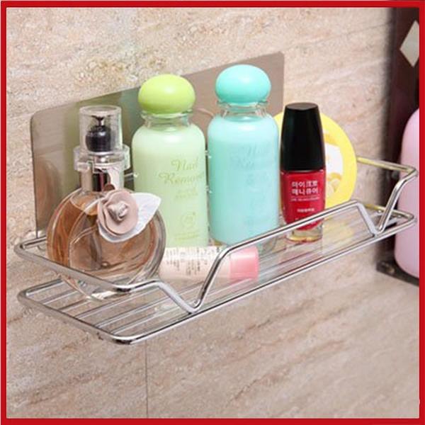 <特價出清>衛生紙 黏貼收納架 沐浴化粧品架 免釘免打孔【AE04256】99愛買小舖