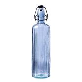 丹麥Bitz 玻璃水瓶750ml 藍