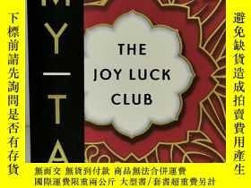 二手書博民逛書店譚恩美:喜福會罕見Amy Tan:The Joy Luck Club (Penguin 1989年版) (美國華人