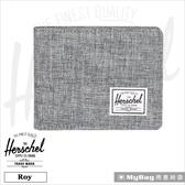 Herschel 皮夾 亮灰色 經典內斂多卡短夾 Roy-919 MyBag得意時袋