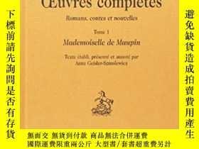 二手書博民逛書店Mademoiselle罕見de MaupinY26437 Th
