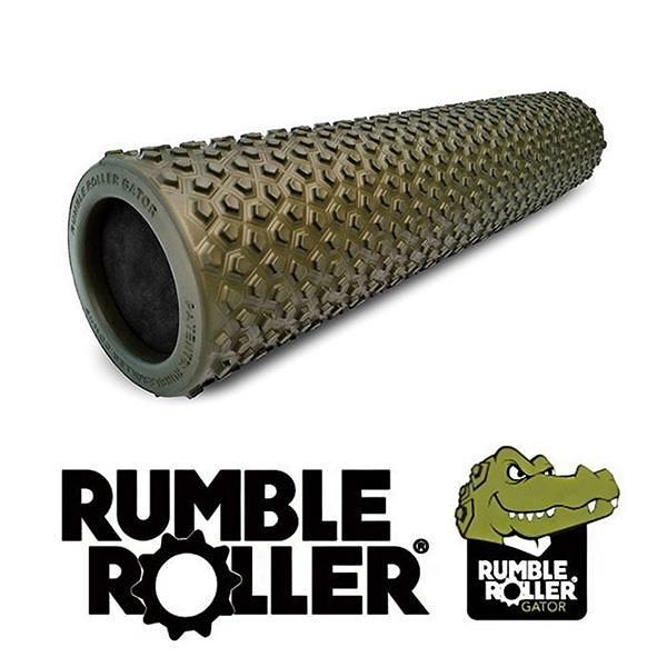 【南紡購物中心】Rumble Roller 揉壓按摩滾筒 狼牙棒 Gator 鱷皮系列 56cm 美國製造 代理商貨 正品