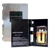 Dior 迪奧Homme 男性淡香水針管 1ml【人文行旅】