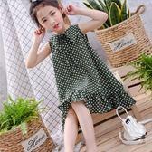 女童夏裝2018新款夏季女寶寶雪紡短袖公主裙中小童韓版洋氣連衣裙