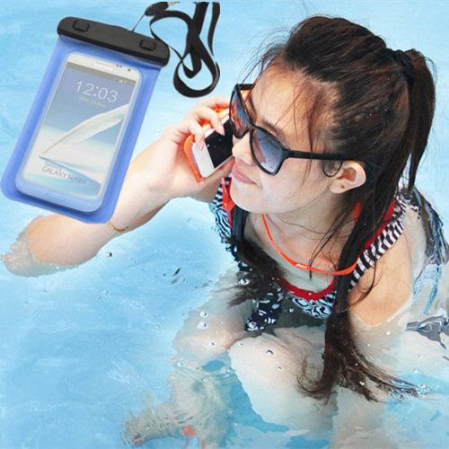 多功能手機防水袋 5.5吋 20x10.7cm iPhone 6 Plus 手機袋 手機套