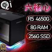 【南紡購物中心】華碩A1系列【mini天孤星】AMD R5 4650G六核 小型電腦(8G/256G SSD)《A1 PLUS》