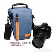51102單眼相機包單肩側背微單攝影包佳能5d3三角包便攜輕便 科炫數位