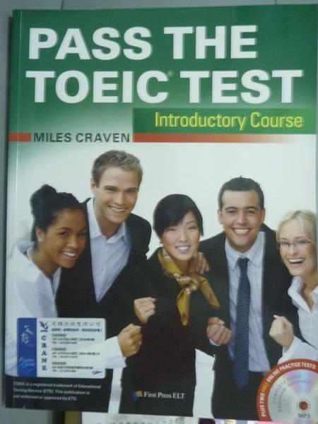 【書寶二手書T3/語言學習_PMV】Pass the TOEIC Test _Miles Craven_樣書_有光碟