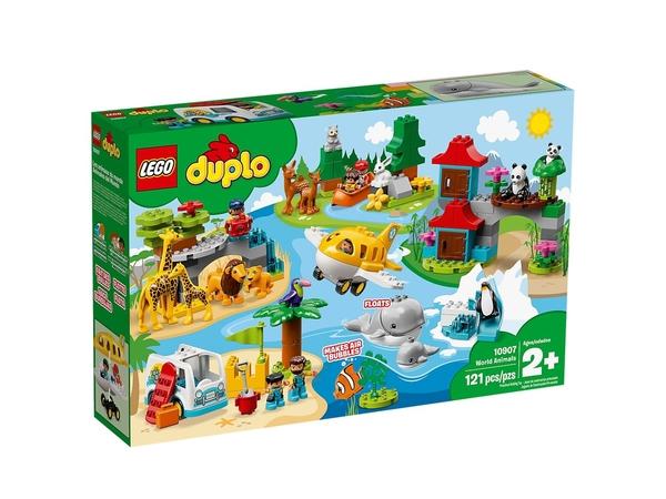 【愛吾兒】LEGO 樂高 duplo得寶系列 10907 動物世界