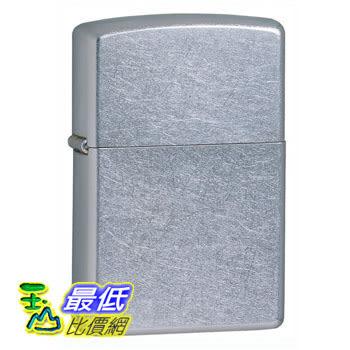 [104 美國直購] Zippo Street Chrome Pocket Lighter 打火機