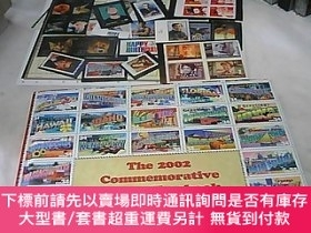 二手書博民逛書店The罕見2002 COmmemorative stamp yearbook united states post
