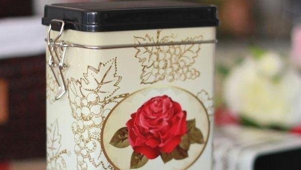 [協貿國際]鐵盒茶葉密封罐單個價