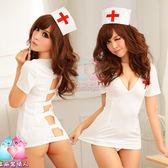 【愛愛雲端】無敵爆乳俏護士-四件式情趣組(白) R8NA08030071