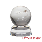 天然水晶球-白水晶 石頭記