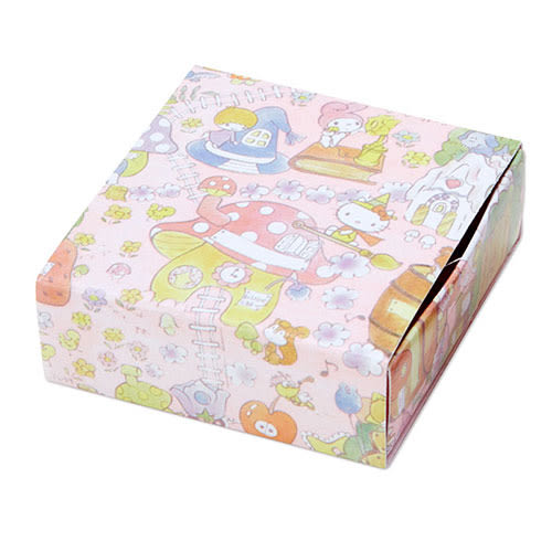 《Sanrio》SANRIO繽紛包裝紙第二彈紙膠帶(繽紛蘋果)★funbox生活用品★_504041