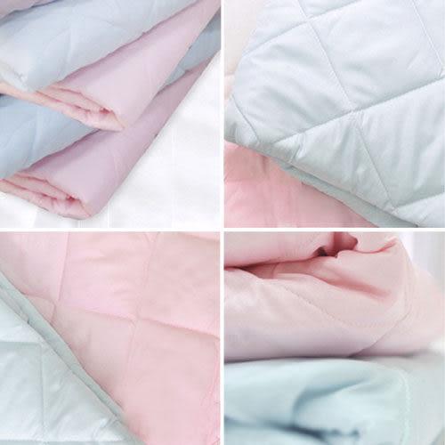 【安妮絲Annis】馬卡龍色、果漾床包保潔墊(淡藍)雙人5X6.2呎、台灣製造車工好、不易變形